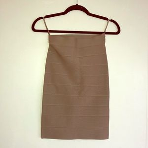 Bcbg bandage mid length skirt